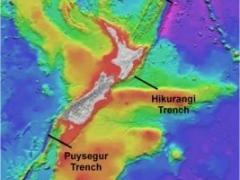 Eathquake hotspots